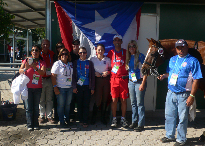 Pan Am Games, 10/16/11 - The Puerto Rican team